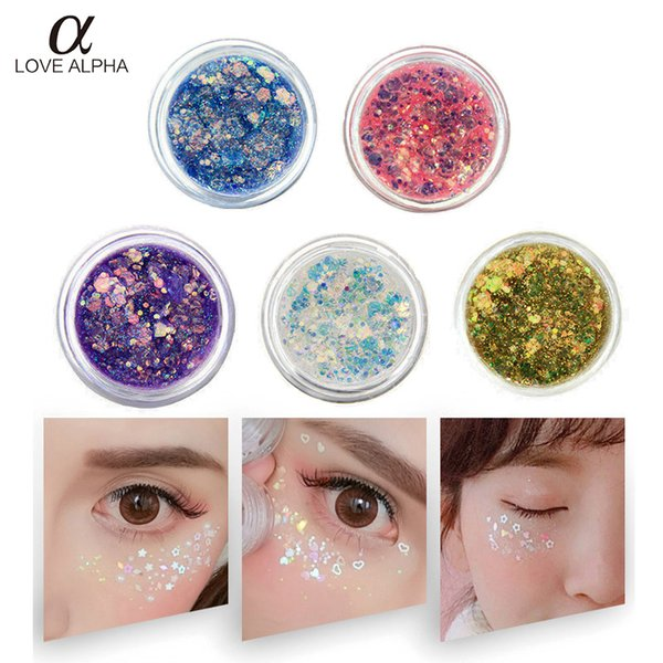 1 UNID Envío Gratis Maquillaje Shimmer Glitter Eyeshadow Polvo Impermeable Larga Duración Lentejuelas Rosa Dorado Púrpura Sombra de Ojos Verde