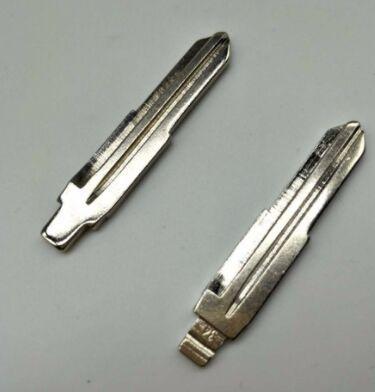 10 Teile / los Beste Qualit Schlüsselrohlinge Ungeschnittenes Blatt Für KIA RIO ELANTRA ACCENT Kupfer NO. 34
