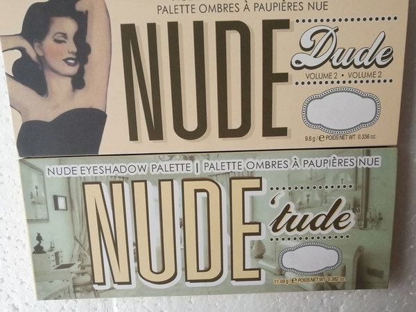 Women the 12 Colors Beauty Makeup Balm Nude Dude Vol .2 ombres a paupieres nue Eyeshadow Palettes Eye Shadow cosmetics