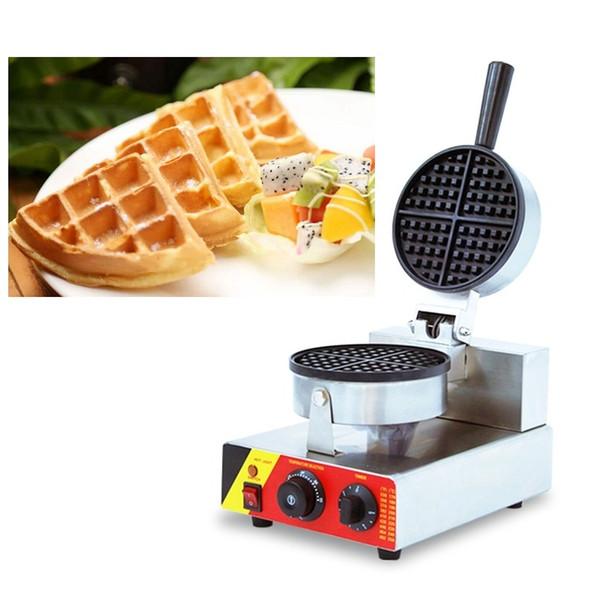 Commercial Mini Electric Belgian Waffle Makers 220v 110v Egg Waffel Machine Iron Baker Making Pan For sale