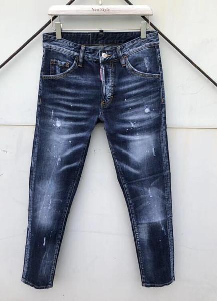 Hochwertige Jeans im europäischen Stil, High-End-Modeserie für Herren, Mode für Männerparty, modischer neuer Style.0153