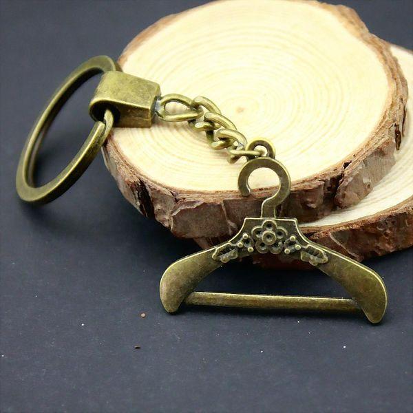 6 Pieces Key Chain Women Key Rings Couple Keychain For Keys Hanger 37x29mm