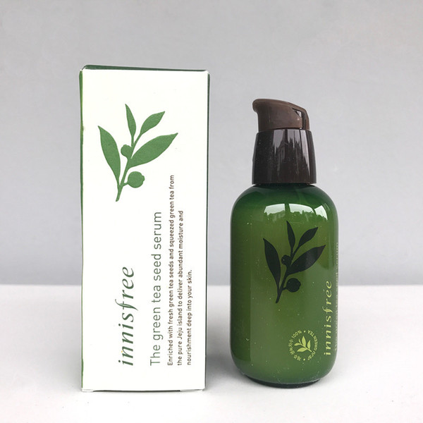 best selling Korea INNISFREE Green Bottle CREAM THE Green Tea Seed Serum Moisturizing Face Care Lotion 80ML New Face Skin Care Cream