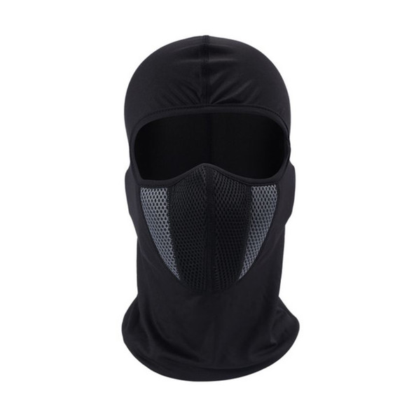 HEROBIKER Balaclava Motorcycle Face Mask Moto Helmet Bandana Hood Ski Neck Full Face Mask Windproof Dustproof Face Shield (Retail)