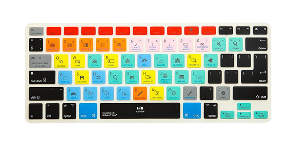 For iPhone iMac ,Macbook Pro  15 KC (2pcs) Shortcut keys Keyboard A1278 Ableton Live Cover Film A1278