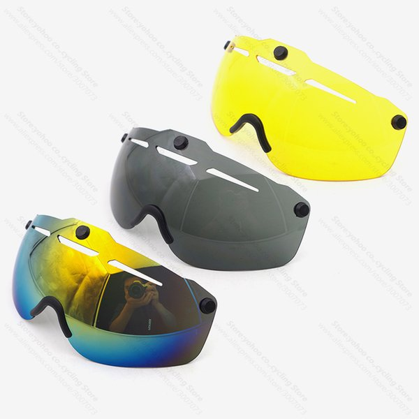 bicycle helmet eye Ciclismo lens aero helmet bike Triathlon road cycling lens time trial goggles Accessories