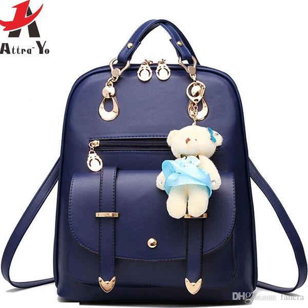 d10e06c016 Wholesale- Attra-Yo! women backpack in casual daypack women s travel bags  shoulder bag