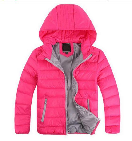 2019 nueva chaqueta de plumón para niños nueva marca de bebé chaqueta de invierno chaqueta de plumón prendas de vestir exteriores para niños niños Parkas 3-12Y