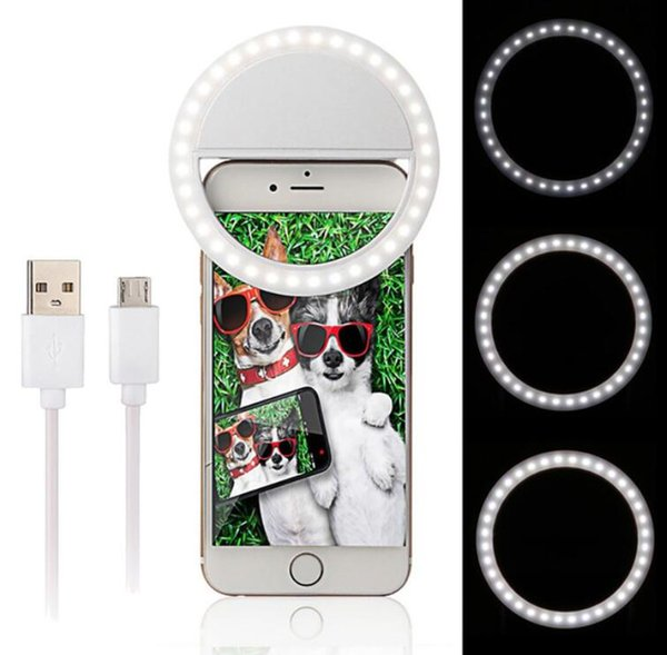 36 Leds Mini Smartphone For iPhone IOS Android Cell Phone Camera Fill Light Portable LED Flash Fill Light