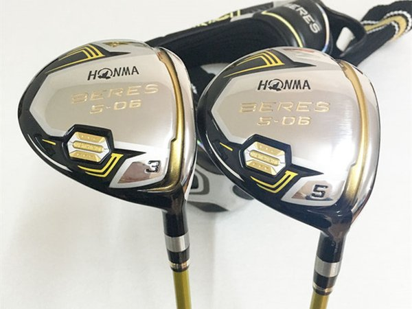 Honma Golf Clubs Golf Fairway Wood 3 Star Honma S-06 Fairway Woods #3/#5 R/S Flex ARMRQ Graphite Shaft With Head Cover