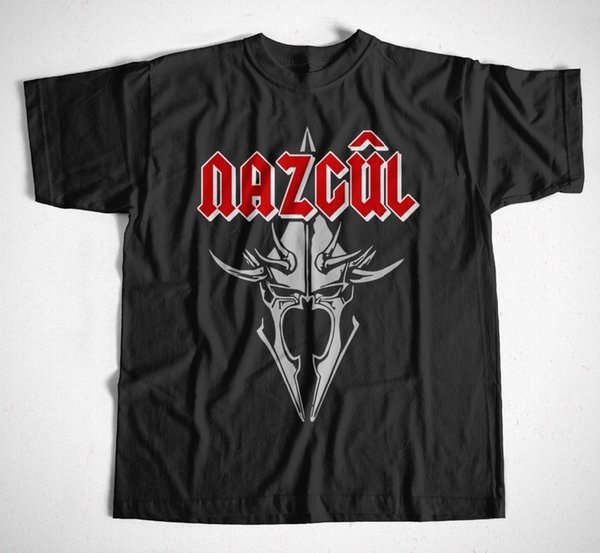 Free shipping 2018 T-Shirt Nazcul LORD OF THE RINGS - TLOTR - SAURON HOBBIT MORDOR NAZGUL Hot Sale Casual Clothing