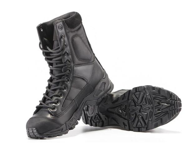 calidad y cantidad asegurada zapatillas de skate colección de descuento Compre Botas Tácticas Botas Militares De Combate Botas Militares Negras  Para Hombre Transpirable Usable Con Bota AirBorne De Alta Calidad A $57.95  Del ...