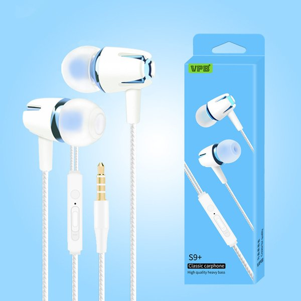 2018 earpiece Android smart phone earphone universal in-ear mobile phone headset manufacturers wholesale