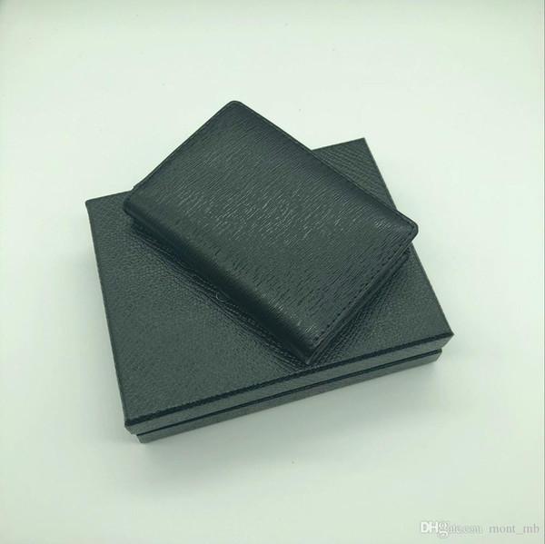 MB credit card holder wallet high quality leather card holder new fashion card holder in 2018 jacket pocket.