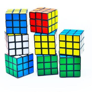 best selling Puzzle Cube 3cm Mini Magic Cube Game Learning Educational Game Cube Decompression Toys Kids Intelligence Toys CCA9946-A 240pcs