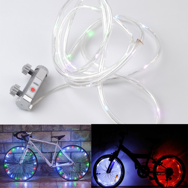 LED Bike Bicycle Cycling Rim Lights Auto Open /& Close Wheel Spoke Light String