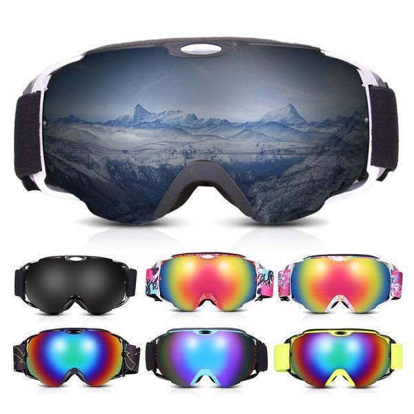 OGT Ski Goggles Double Layers Anti-fog UV Protection Skiing Goggles Men Women Snow Snowboard Winter Sports Eyewear