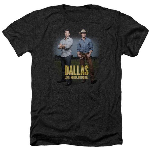 Даллас ТВ-шоу мальчиков лицензированных взрослых Вереск футболка всех размеров бесплатная доставка 2018 Мужская Lastest мода с коротким рукавом печатных смешно
