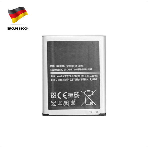 top popular New 2100mAh Li-ion EB-L1G6LLU Replacement Battery For Samsung Galaxy S3 i9300 i9305 Fast shipping & Germany Stock 2019
