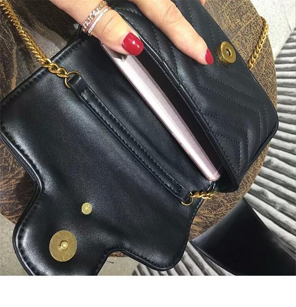 Women's new brand new brand cross-body bag female long plaid shoulder bag female satchel wave pattern bag.