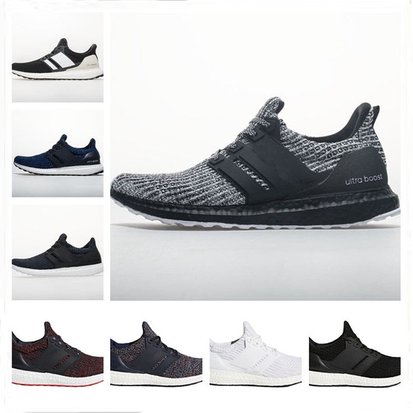 Ultra Boost 4.0 Running Shoes Show Your Stripes Breast Cancer Awareness CNY Black Multi Color Men Womens Real Boost Sneakers Size 36-48