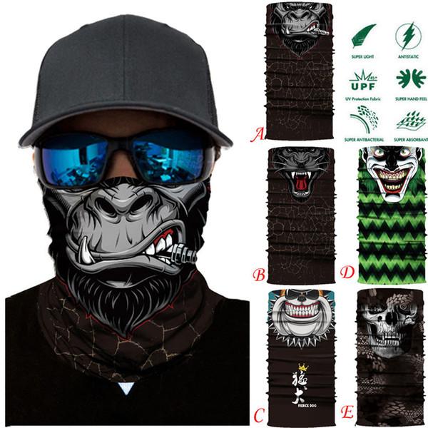 3D Animal Ski Cycling Snowboard Scarf Neck Warmer Face Mask Balaclava Bandana Bike Mask Free Shipping A30