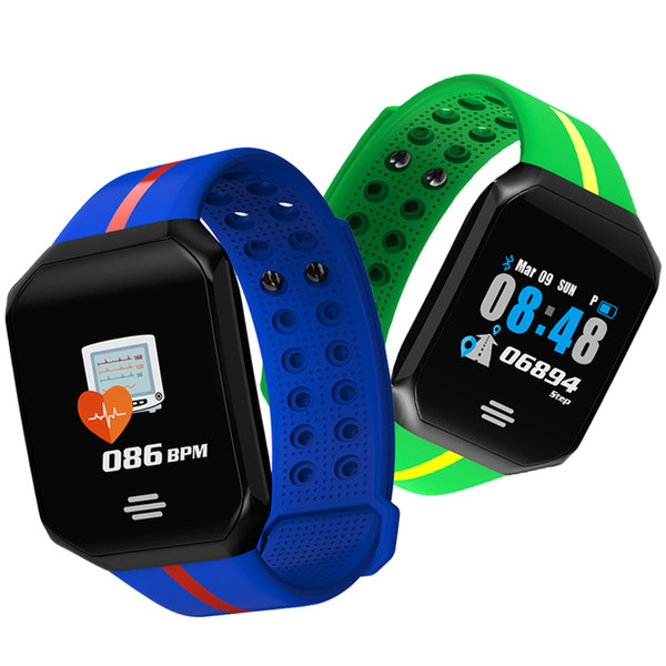 Fitness Smart Watch Mens Pedometer Intelligent Sports Watch Big Screen Dial Silicone Smartwatch Running for Android 4.4 IOS 8.0