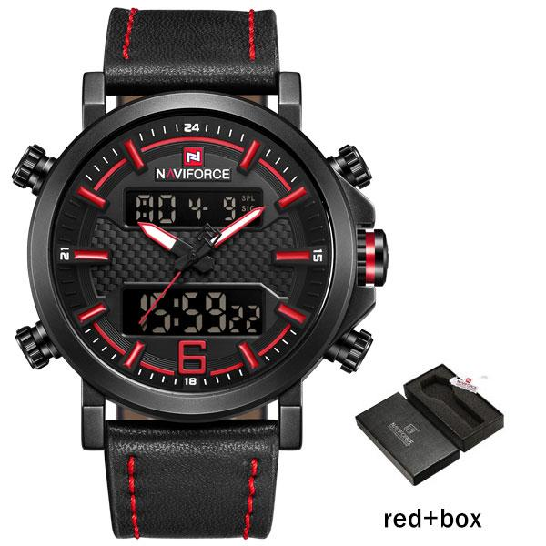 Red with Box