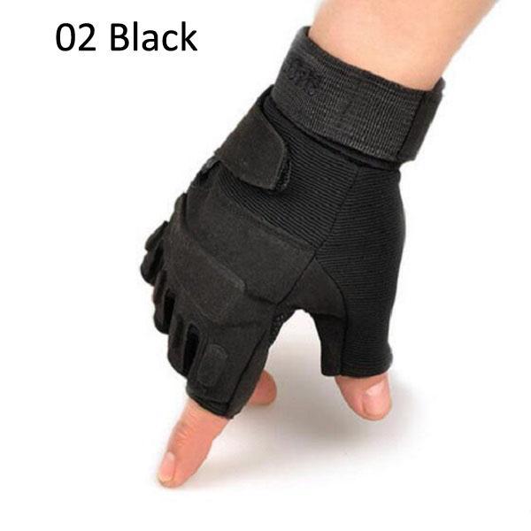 Commercio all'ingrosso nuovi guanti sportivi palestra esercizio ciclismo indossare guanti da moto tattici all'aperto Mountain Bike guanti senza dita
