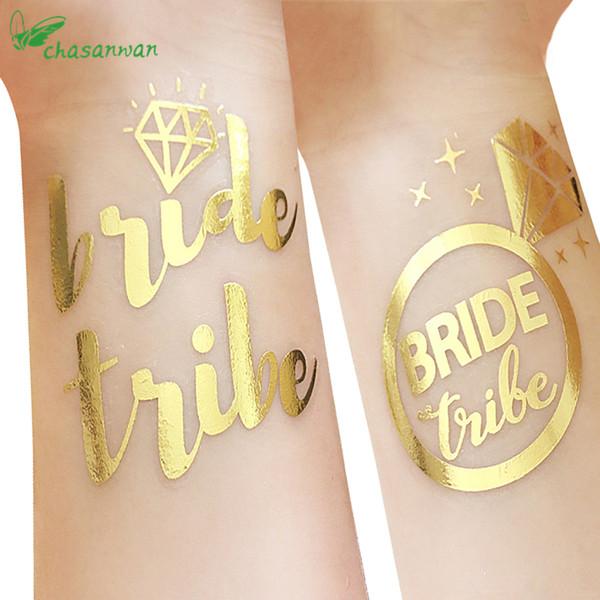 25pcs Cute Team Bride Temporary Tattoo Bachelorette Party Accessories Bridesmaid Bridal Shower Wedding Decoration Photographs ,Q