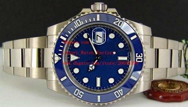 Factory Supplier Luxury AAA Blue Dial CERAMIC Bezel - 116619 Automatic Mechanical 2813 movement 40mm Mens Watch Men's Wrist Watches