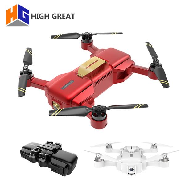 ВЫСОКАЯ БОЛЬШАЯ МАРКА 4K Drone FPV 1080P HD Камера GPS VIO Позиционирование Электронная стабилизация изображения Карданная камера Складная дрена