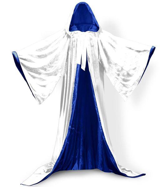 Forro branco + azul