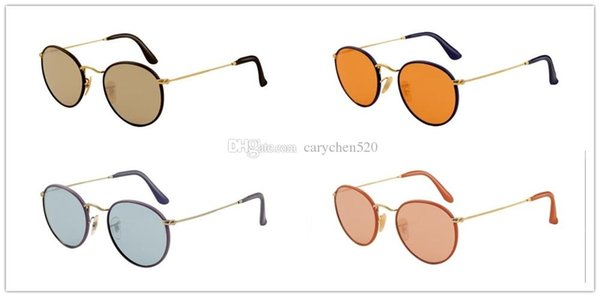 High quality Polarized 3475Q Sunglasses Black Frame Beige black red purple Crystal Lens For Men and Women Brand designer With case and box