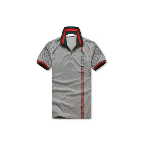 b1a8d6c9a7a Designer Fashion Polo Shirts Men Summer Luxury Polo Mens Shirt Loose  Breathable Striped Letter Print Fashion Casual Brand Shirt M-2XL