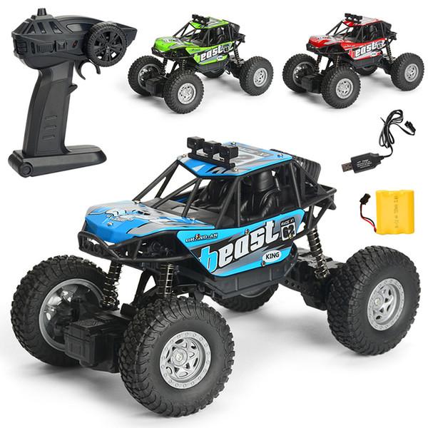 WLtoys 1:20 Voitures RC 4WD 15KMH Haute Vitesse Voitures de Course Hors Route Monster Truck Rock Crawler Télécommande Électrique Véhicule Hors Route enfants jouets