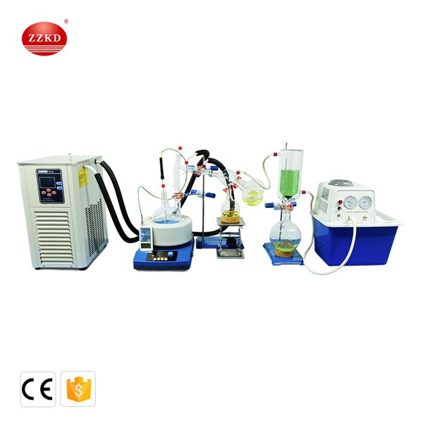 2019 Lab Scale Small Short Path Distillation Equipment 2L Short Path  Distillation Contains Cryogenic And Vacuum Pumps From Zzkeda, $1963 97 |