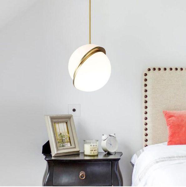 Lámpara de techo moderna colgante luces metal cambiable de semi-circular E27 bombilla LED Para Foyer Bar Comedor Bed Room hanglamp artefactos de iluminación