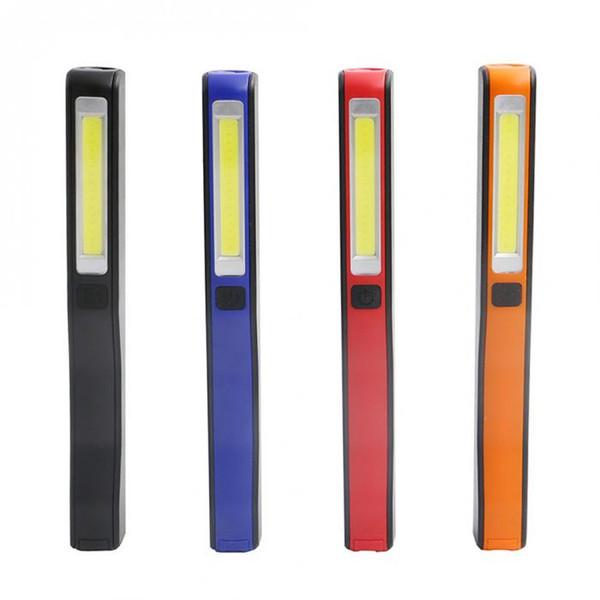 USB-Mini-Stifttasche COB LED-Taschenlampe Magnetische Arbeitsinspektionslampe