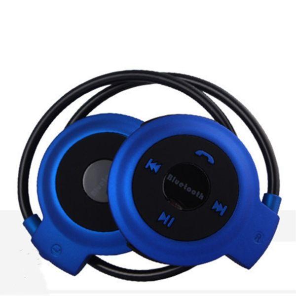 Bluetooth Headset Auriculares Mini diadema 503 cabeza inalámbrica para deportes al aire libre con radio FM estéreo TF Tarjeta mini estéreo bilateral DHL