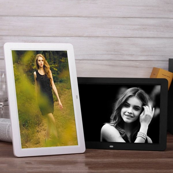 Digital Photo Frame 12inch Picture Photo Album MP3 MP4 Player HD TFT-LCD 1280*800 Camera Photo Accessories with Remote Control