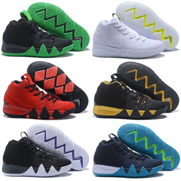 separation shoes 2f5b4 b35df Brand New Kyrie IV Men Confetti Multicolor BHM EQUALITY All Star March  Madness City Guardians London Mamba Basketball 4 Shoes Shoes Kids Mens ...