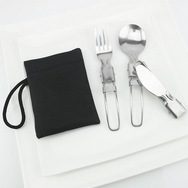 Knife + spoon + fork