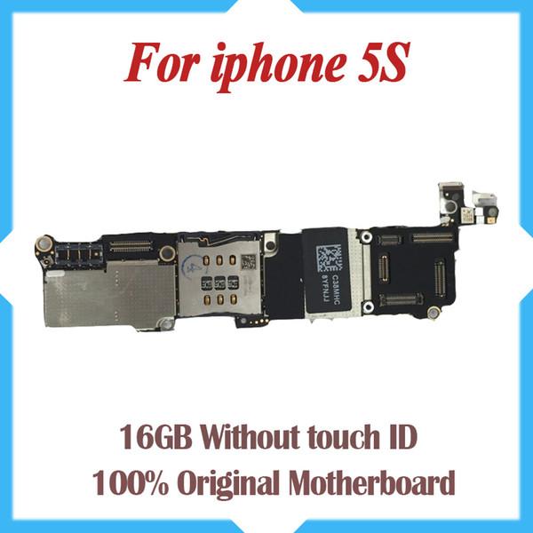 100% original desbloqueado, 16 gb 5s placa base sin toque, para iphone 5s placa base envío gratis