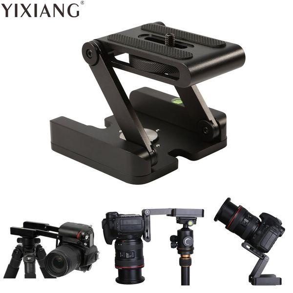 YIXIANG Z typ tilt stativkopf Flex faltung Z pan für Canon Nikon Sony DSLR kamera aluminiumlegierung Top qualität garantiert metall