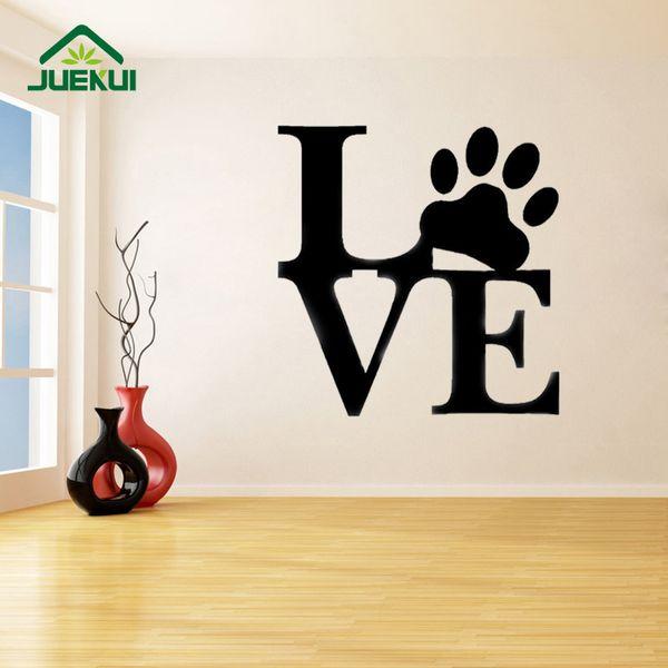 LIEBE Große Buchstaben Removable Decals Wohnzimmer Dekorieren Home Art Decor Vinyl Abnehmbare Aufkleber Schlafzimmer Poster K510
