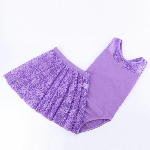 violet Leotard dres