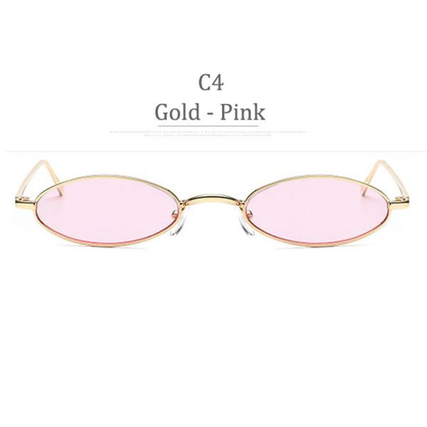 C4 Obiettivo rosa in oro