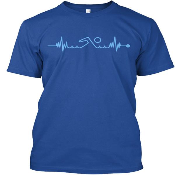 Swimming Pulse Premium Tee T-Shirt