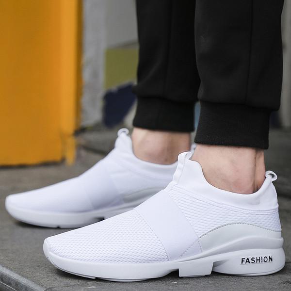 Nouveau style hommes chaussures de course en plein air jogging chaussures de sport sport baskets hommes garder au chaud hiver neige chaussures pour la lumière de marche